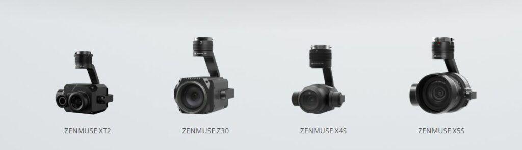 DJI Matrice 210 Camaras compatibles