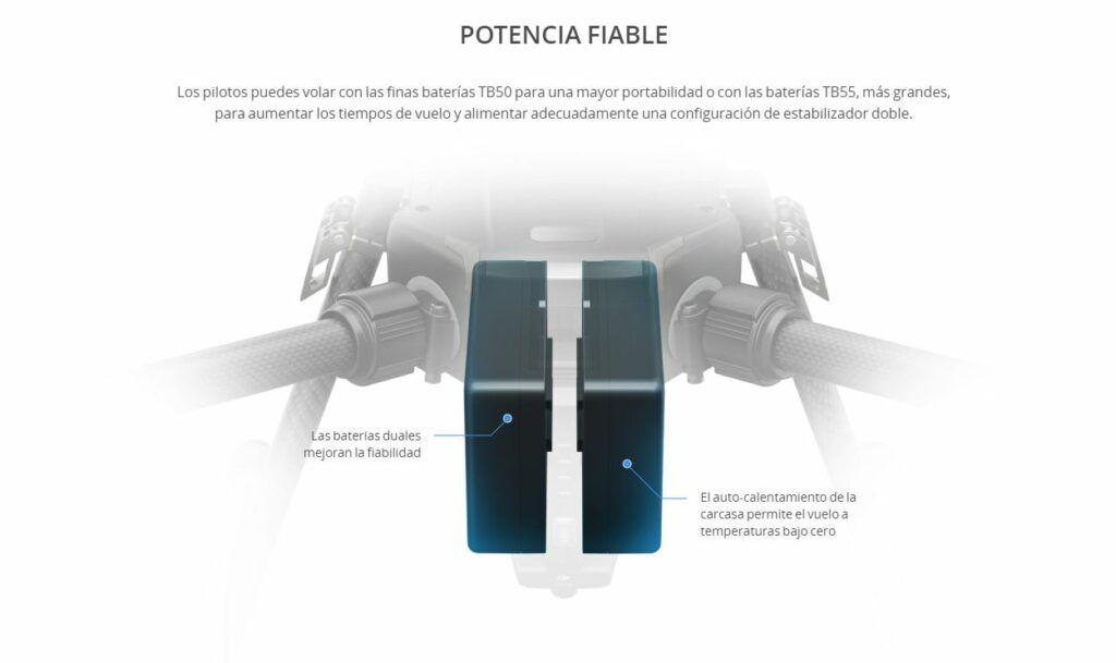 DJI Matrice 210 Potencia Fiable