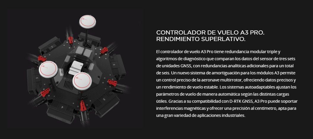 Drone DJI Matrice 600 Pro Controladora de vuelo del multicoptero industrial