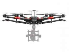 Drone DJI Matrice 600 Pro con camara
