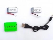 Pack 2 baterías JJRC H31 y cargador