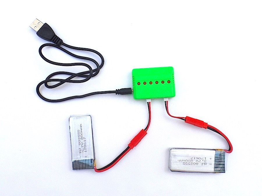 Pack 2 baterías JXD 510G 510W y cargador