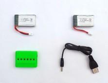 Pack 2 baterías Syma X5C Avenzo y cargador
