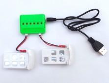 Pack 2 baterías X5UC y cargador múltiple