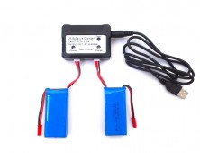 Pack 2 baterías Yizhan Tarántula X6 y cargador múltiple