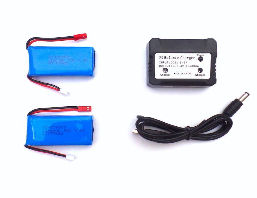 Pack 2 baterías Yizhan Tarántula X6 y cargador
