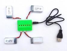 Pack 4 baterías JJRC H31 y cargador