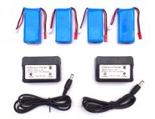 Pack 4 baterías Yizhan Tarántula X6 y cargador