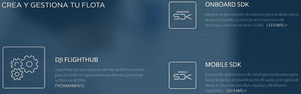 SDK para DJI Matrice serie 200