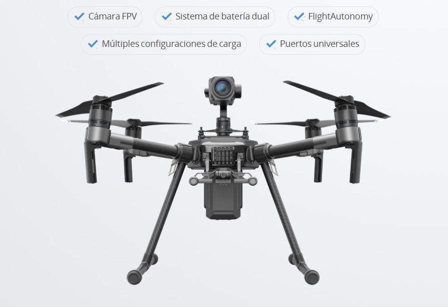 drone DJI Matrice 210 Caracteristicas