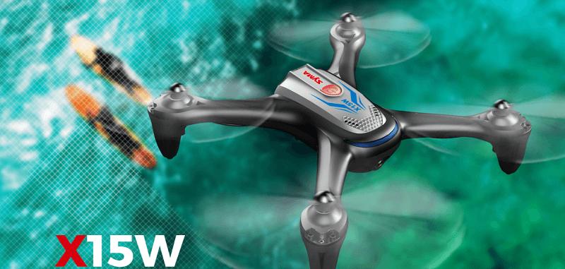 Drone FPV Syma X15W Portada
