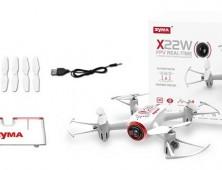 Drone FPV Syma X22W Pack del multicoptero