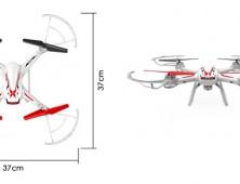 Drone FPV Syma X54HW medidas del UAV