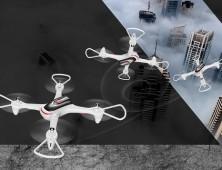 Drone Syma X15 multicoptero haciendo loopings