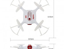 Drone Syma X21 medidas del UAV