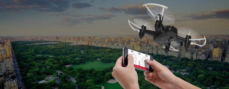 Drone Syma X22W FPV pilotaje por movimientos