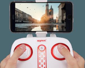 Mini drone FPV Syma X21W mando del multicoptero