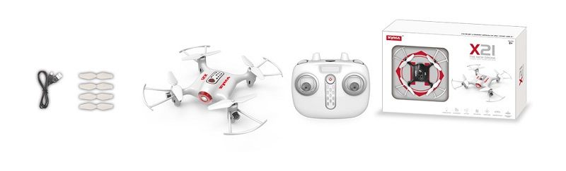 Mini drone Syma X21 pack del multicoptero