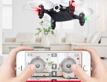 Multicoptero FPV Syma X21W control por movil