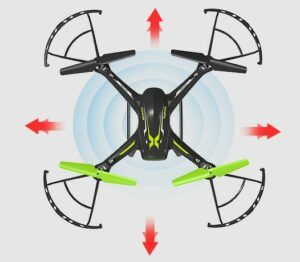 Multicoptero Syma X54HW FPV con sistema Headless