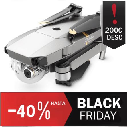 Comprar drone DJI Mavic Pro Platinum Rebajado Black Friday