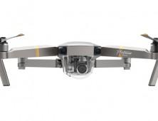 Dron DJI Mavic Pro Platinum frontal del UAV