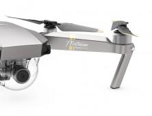 Drone DJI Mavic Pro Platinum pata del multicoptero