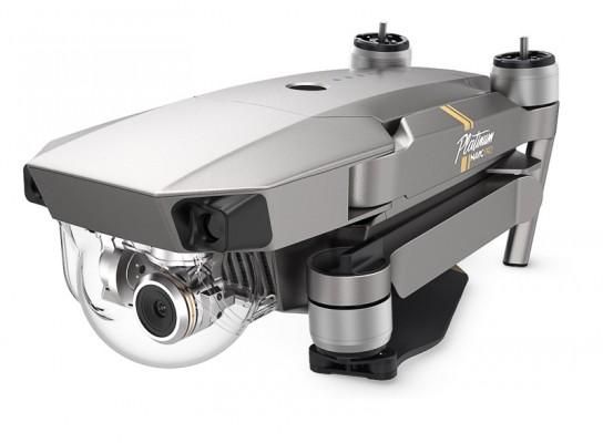 Drone DJI Mavic Pro Platinum plegado frontal