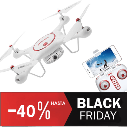 Oferta Black Friday Drones FPV Syma
