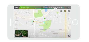 Phantom 3 Standard Localizacion GPS del multicoptero