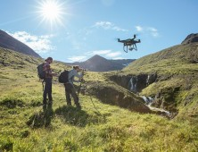 drone dji phantom 4 pro plus obsidian volando