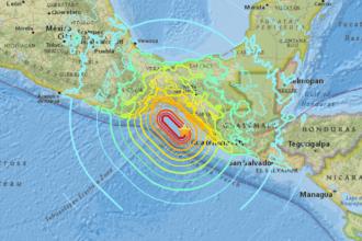 terremotos mexico a vista de drone