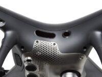 zoom del dron dji phantom 4 pro+ obsidian
