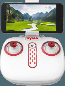 Drone FPV Syma X8SW mando del multicóptero