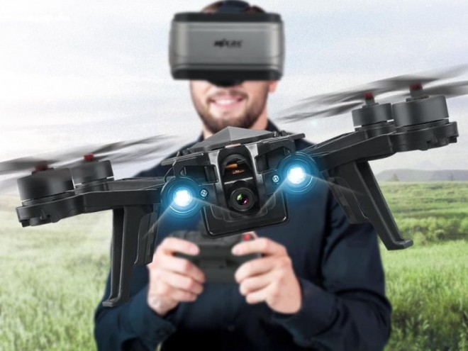 Drone MJX Bugs 6, para carreras