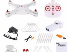 Drone Syma X8SW Pack del multicoptero FPV