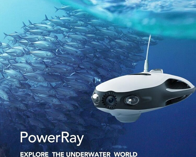 Drone submarino Power Ray Wizard - cámara 4k