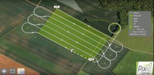 App Pix4D para planificar vuelos en drones Parrot