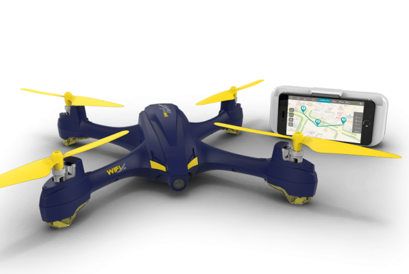 Drone FPV Hubsan H507A GPS WayPoints