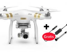 Drone FPV Phantom 3 SE a 4k con cargador de coche gratis