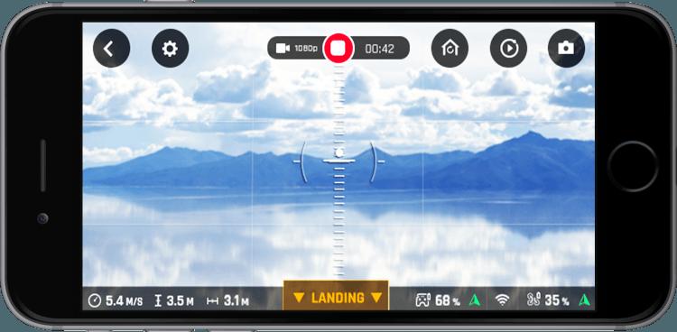 Drone Parrot Bebop App Free Flight Pro