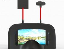 Gafas Eachine D2 VR Pro 5 Pulgadas 800 480 40CH 5.8G