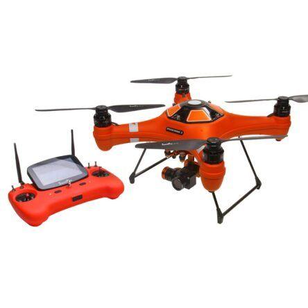Splash Drone 3 Auto y control remoto