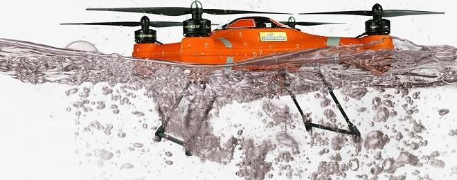 Splash Drone 3 Fisherman para pesca y rescate