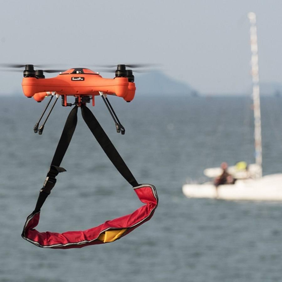 Splash Drone 3 Fisherman Plus con camara 4k