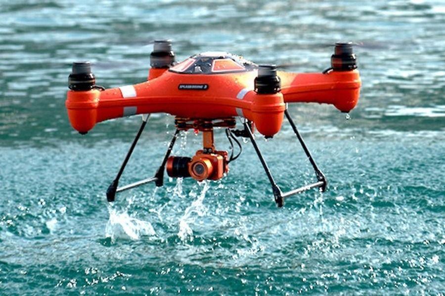 Splash Drone 3 -UAV impermeable