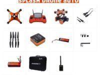 Splash Drone 3 version Auto contenido del pack