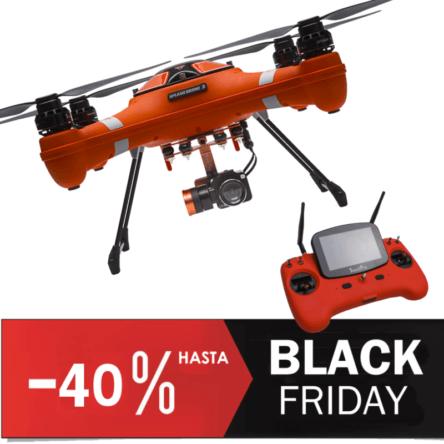 Splash drone 3 Auto impermeable 4k Rebajas Black Friday