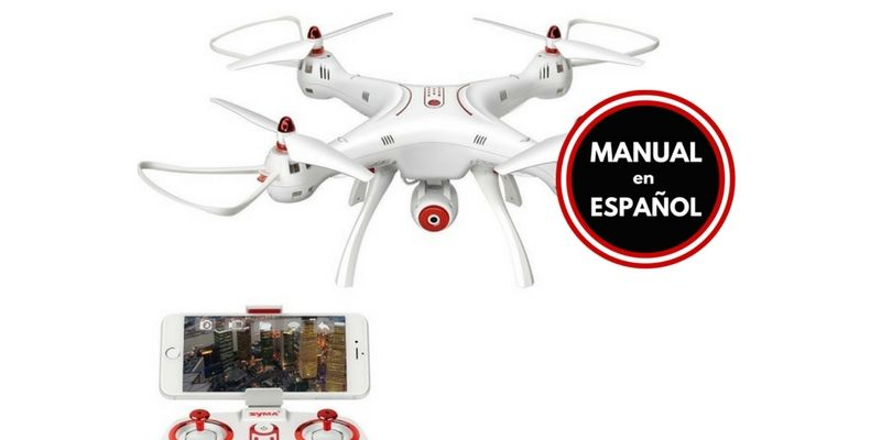 Drone FPV Syma X8SW Manual Español