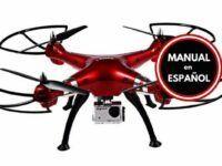 Drone Syma X8HG camara FullHD Manual Español